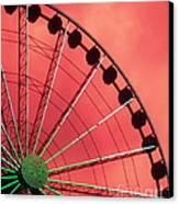 Spinning Wheel  Canvas Print by Karen Wiles