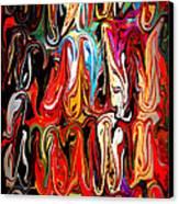 Spirit Of Mardi Gras Canvas Print by Carol Groenen