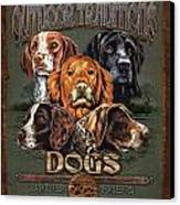 Sporting Dog Traditions Canvas Print by JQ Licensing