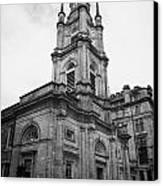 St Georges-tron Church Nelson Mandela Place Glasgow Scotland Uk Canvas Print by Joe Fox