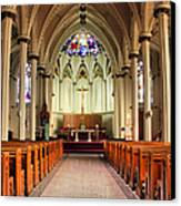 St. Mary's Basilica Halifax Canvas Print by Kristin Elmquist