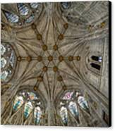 St Mary's Ceiling Canvas Print by Adrian Evans
