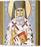 St Nektarios Canvas Print by Julia Bridget Hayes