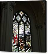 Stained Glass Canvas Print by David Bearden