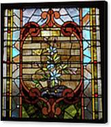 Stained Glass Lc 18 Canvas Print by Thomas Woolworth