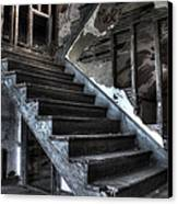 Stairway To Ruin Canvas Print by Andrew Pacheco
