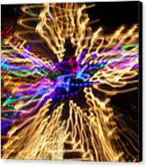Star Abstract Canvas Print by Garry Gay