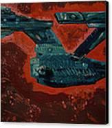Star Trek Triptec Canvas Print by David Karasow