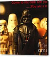 Star Wars Gang 4 Canvas Print by Micah May
