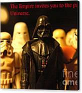 Star Wars Gang 5 Canvas Print by Micah May