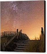 Stars In A Night Sky Canvas Print by Laurent Laveder