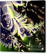 Steampunk Abstract Fractal . Square . S2 Canvas Print by Wingsdomain Art and Photography
