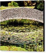 Stone Bridge Canvas Print by HD Connelly