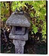 Stone Lantern Canvas Print by Nina Fosdick