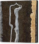 Stone Men 01 - Her Canvas Print by Variance Collections
