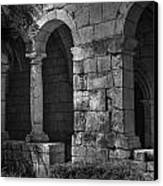 Stone Wall Canvas Print by Armando Perez