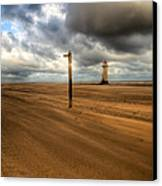 Storm Brewing Canvas Print by Adrian Evans