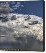 Storm Clouds Thunderhead Canvas Print by Mark Duffy