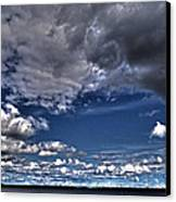 Stormy Clouds ... Canvas Print by Juergen Weiss