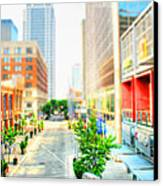 Street's Of Louisville Canvas Print by Darren Fisher