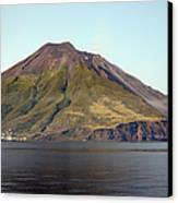 Stromboli Volcano, Aeolian Islands Canvas Print by Richard Roscoe