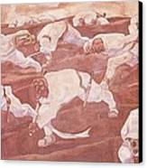 Sturm Dem Namelosen Canvas Print by Pg Reproductions
