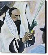 Sukkot Canvas Print by Iris Gill