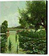 Summer - One Of A Set Of The Four Seasons Canvas Print by Arthur Walker Redgate