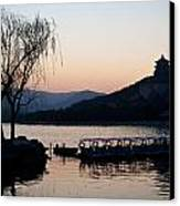 Summer Palace Evening Canvas Print by Mike Reid