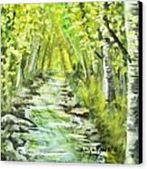 Summer Canvas Print by Shana Rowe Jackson