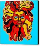 Sun God II Canvas Print by Genevieve Esson