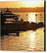 Sun Rising Canvas Print by Suzanne Gaff