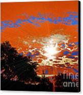 Sunburst Canvas Print by RJ Aguilar