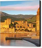 Sunrise In Collioure Canvas Print by Brian Jannsen