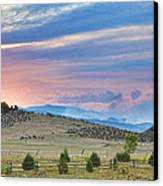 Sunset At The Colorado High Park Wildfire  Canvas Print by James BO  Insogna