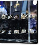 Super Bowl Rings  Canvas Print by Brittany H