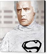 Superman, Marlon Brando, 1978 Canvas Print by Everett