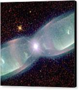 Supersonic Exhaust From Nebula Canvas Print by STScI/NASA/Science Source