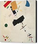 Suprematist Composition No 56 Canvas Print by Kazimir Severinovich Malevich