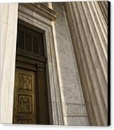 Supreme Court Entrance Canvas Print by Roberto Westbrook