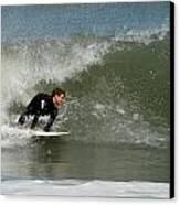 Surfing 398 Canvas Print by Joyce StJames