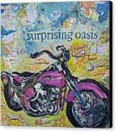 Surprising Oasis Canvas Print by Tilly Strauss
