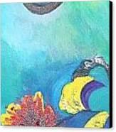 Surreal Dream Canvas Print by Derya  Aktas