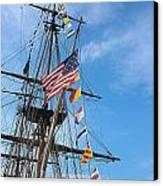 Tall Ships Banners Canvas Print by David Bearden