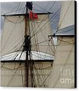 Tall Ships Canvas Print by Bob Christopher