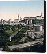 Tallinn Estonia - Formerly Reval Russia Ca 1900 Canvas Print by International  Images