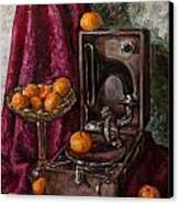 Tangerines Canvas Print by Boris Filinov