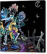 Tango Argentino Milonga Ocho Gancho - Buenos Aires Argentina  Canvas Print by Arte Venezia