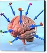 Targeted Psychological Drug Treatments Canvas Print by David Mack