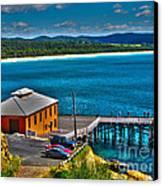Tathra Wharf Canvas Print by Joanne Kocwin